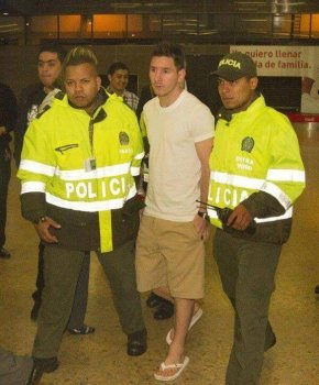 Messi en Medellin