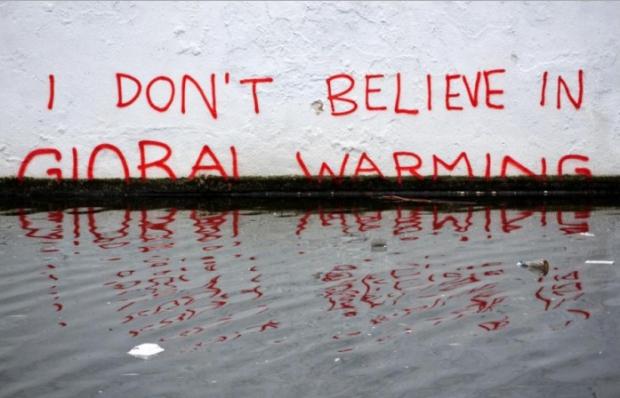 No creo en el calentamiento global